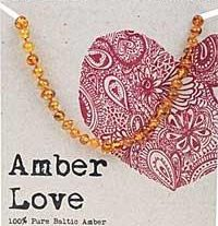 AMBER LOVE CHILD NECKLACE HONEY LOVE www.motherbynature.com.au