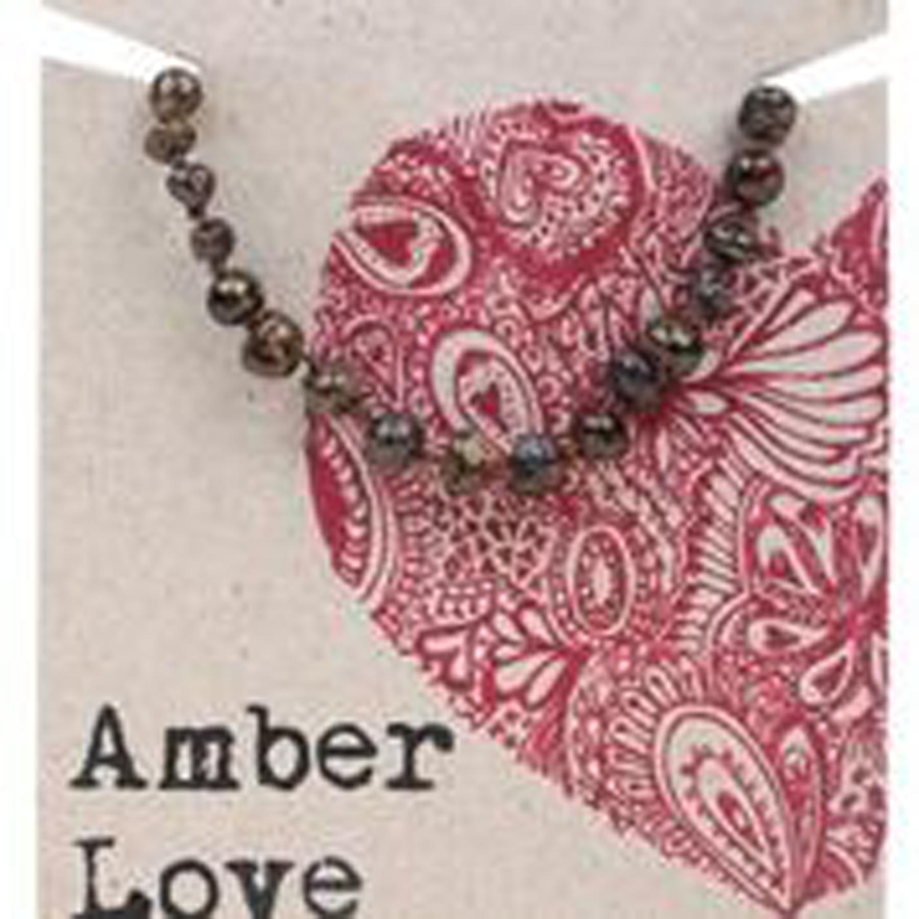 AMBER LOVE CHILD BRACELET / ANKLET OLIVE LOVE