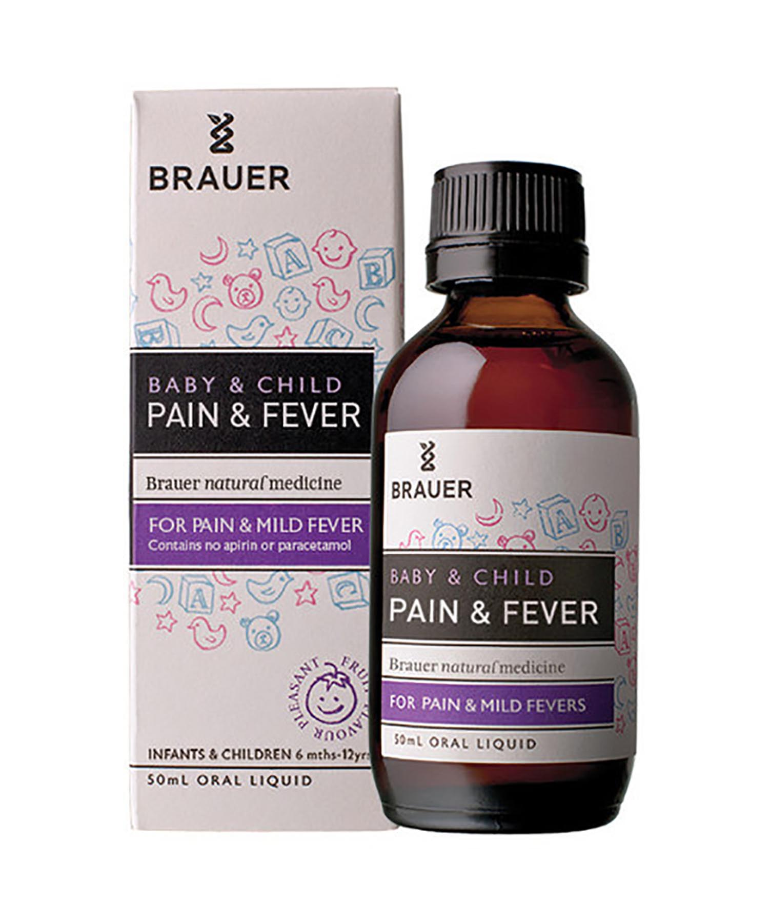 Baby & Child Pain & Fever, brauer