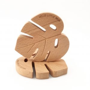 teether natural wood