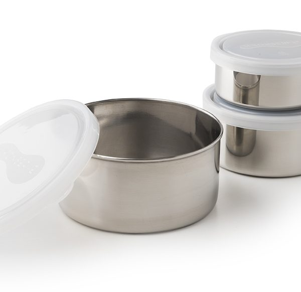 kids konserve stainless steel containers clear lid