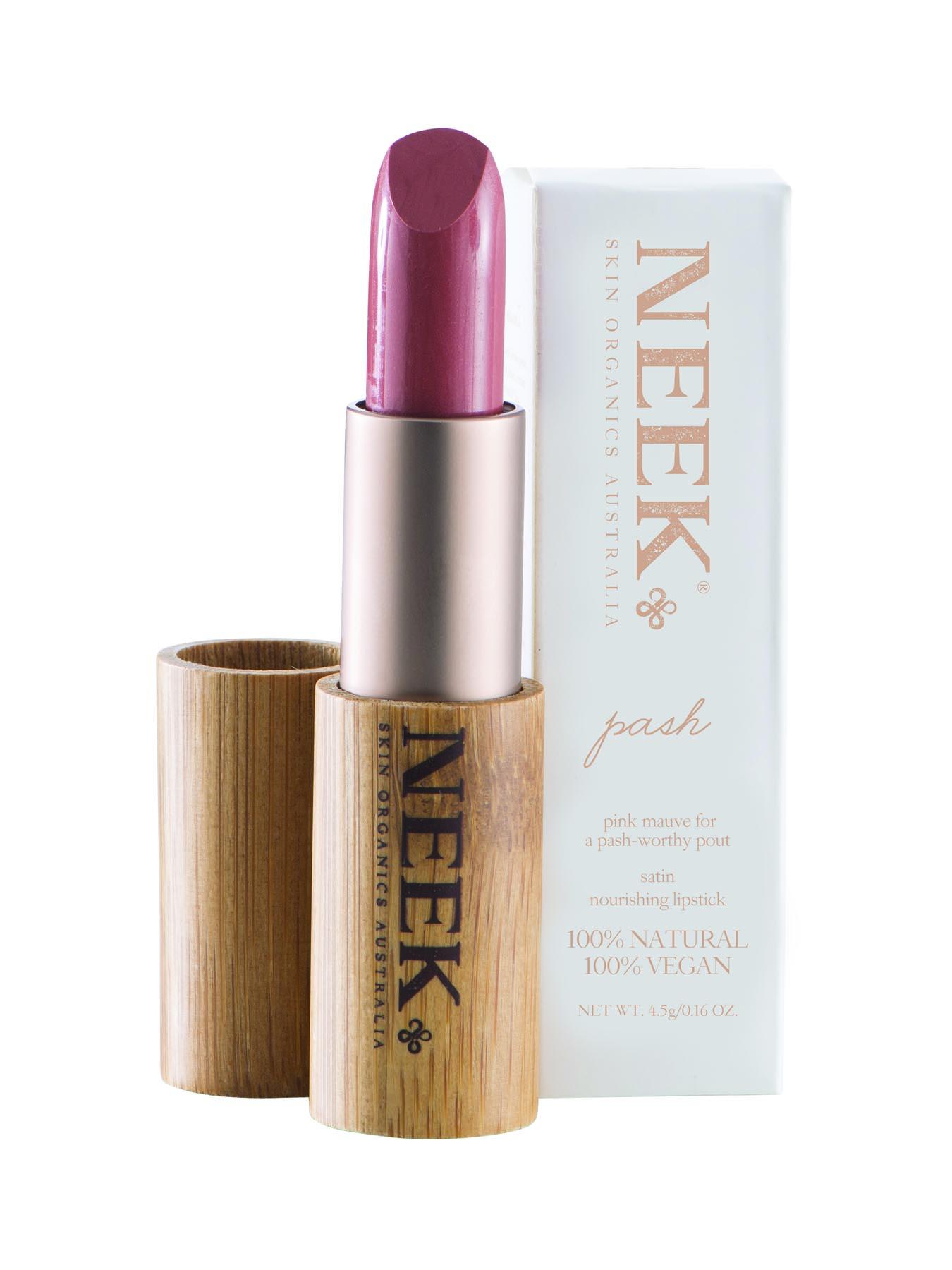 NEEK PASH WWW.MOTHERBYNATURE.COM.AU by neek vegan lipstick australia cruelty free