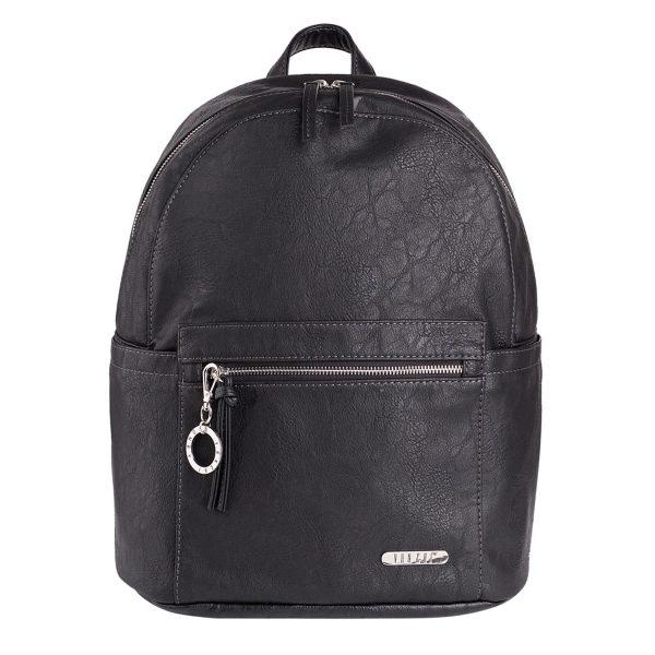 MANHATTAN BACKPACK BLACK NAPPY BAG BABY BAG DIAPER BAG VANCHI