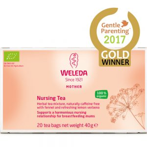 WELEDA NURSING TEA www.motherbynature.com.au