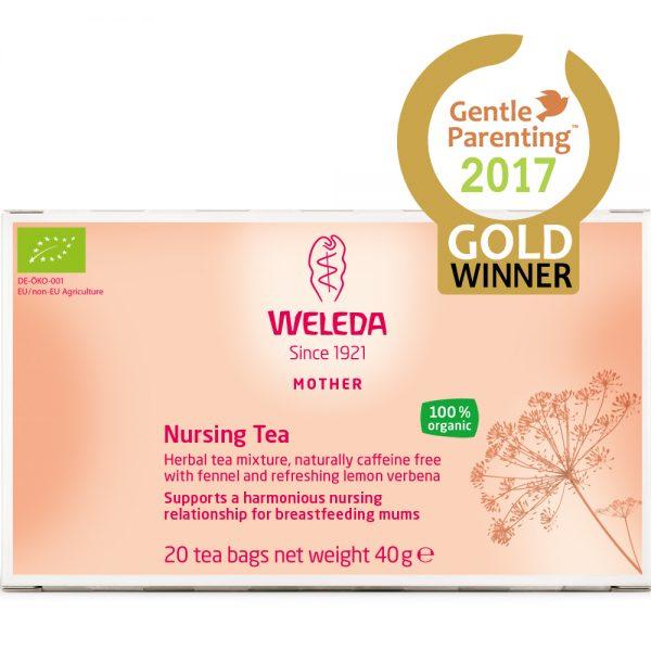 WELEDA NURSING TEA www.motherbynature.com.au