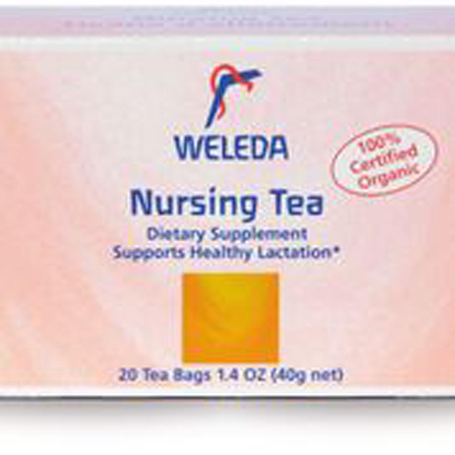 nursing tea, weleda, lactation tea, breastfeeding,