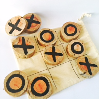 TOUCHWOOD NOUGHTS AND CROSSES WWW.MOTHERBYNATURE.COM.AU and crosses natural wood australia redgum