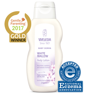 WELEDA WHITE MALLOW BODY LOTION WWW.MOTHERBYNATURE.COM.AU mallow body lotion eczema baby cream baby lotion n
