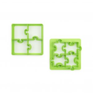 puzzles lunch punch sandwich cutter