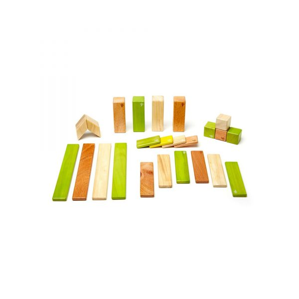 TEGU MAGNETIC WOODEN BLOCKS magnetic blocks jungle 24 piece mother by nature australia
