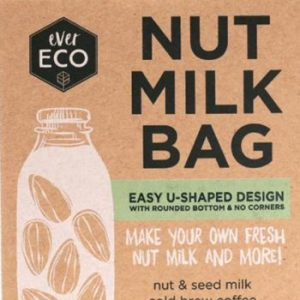 EVER ECO NUT MILK BAG www.motherbynature.com.au