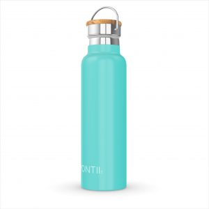 MONTIICO TEAL INSULATED DRINK BOTTLE www.motherbynature.com.au.jpg