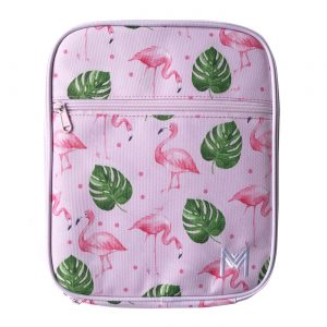 MontiiCo Insulated Lunch Bag - Flamingo lunchbox