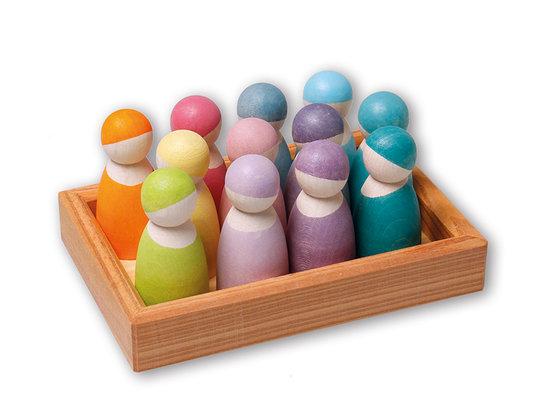 Grimm's 12 Friends in Pastel colours