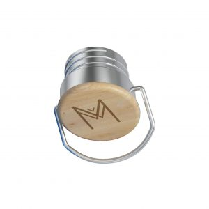 MONTIICO BAMBOO SCREW CAP LID