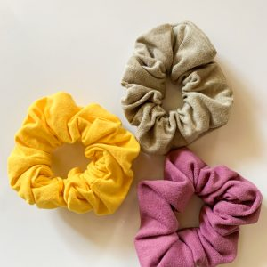 mother by nature 3 set scrunchie