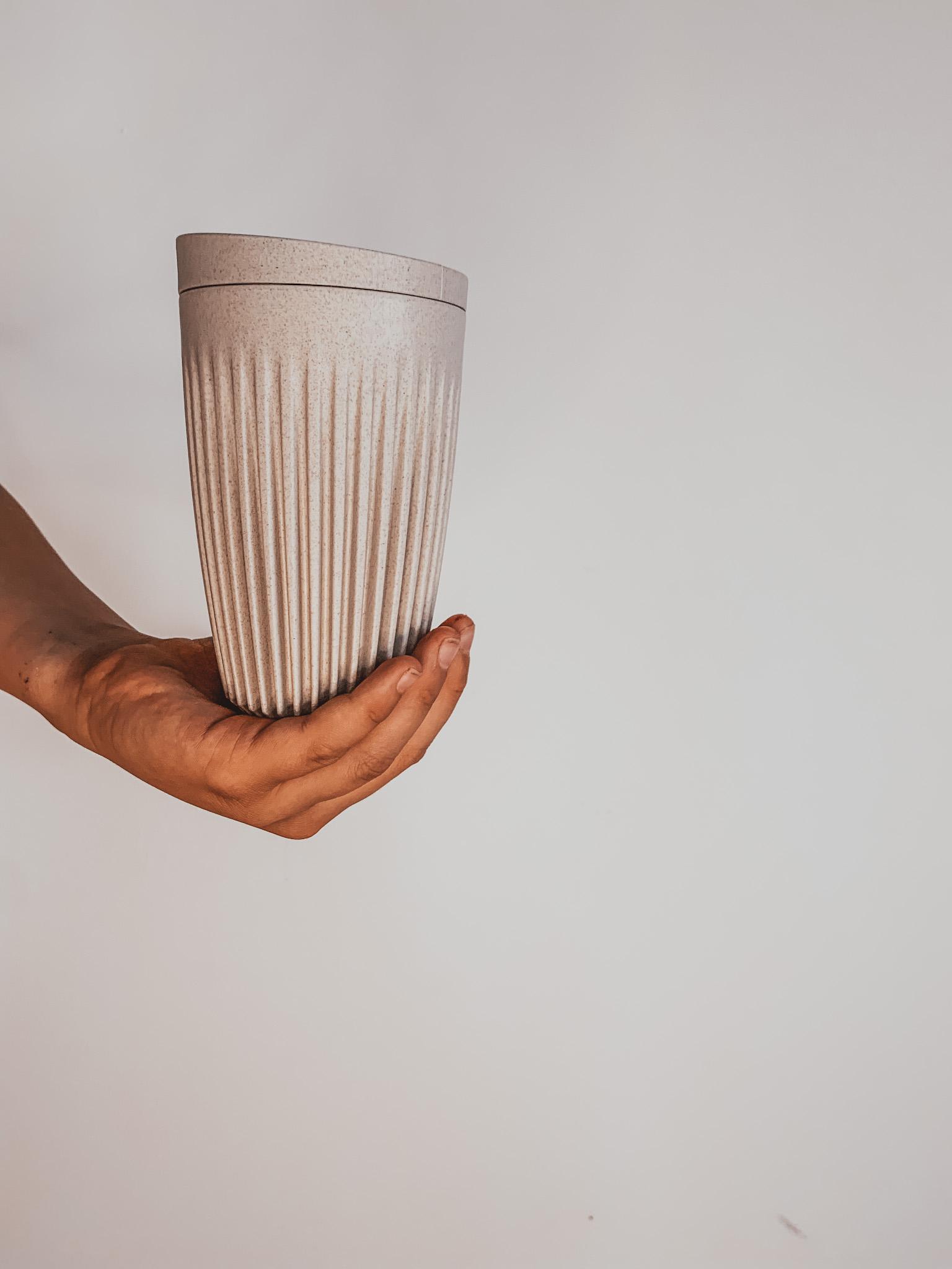 HUSKEE 12 OZ REUSABLE COFFEE CUP