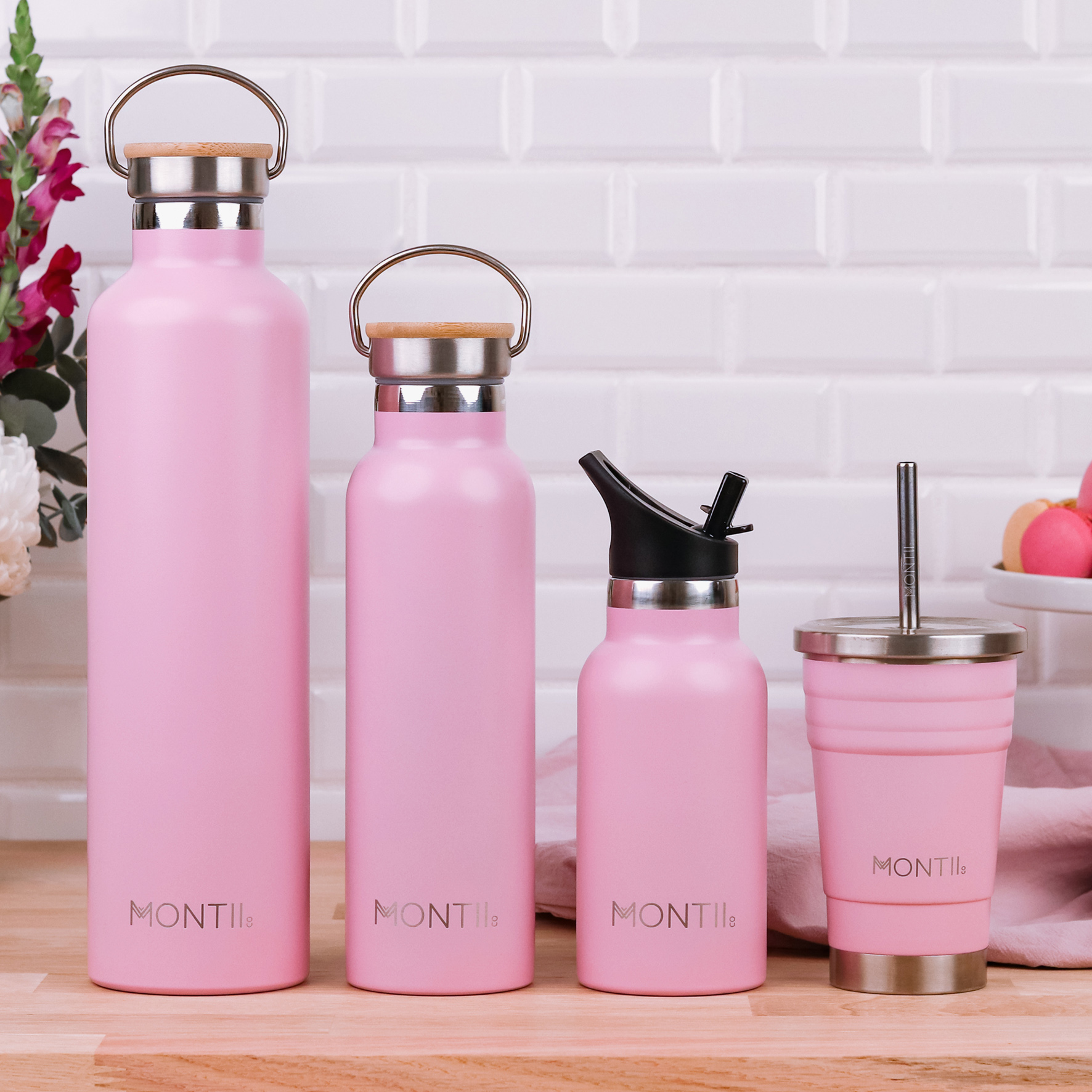 montiico Dusty Pink Smoothie