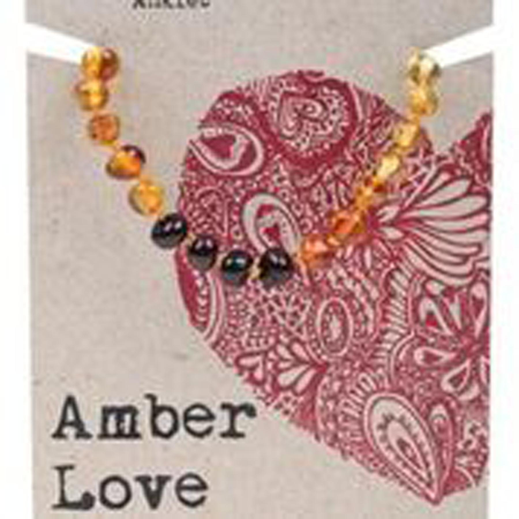 AMBER LOVE CHILD BRACELET / ANKLET RAINBOW LOVE www.motherbynature.com.au