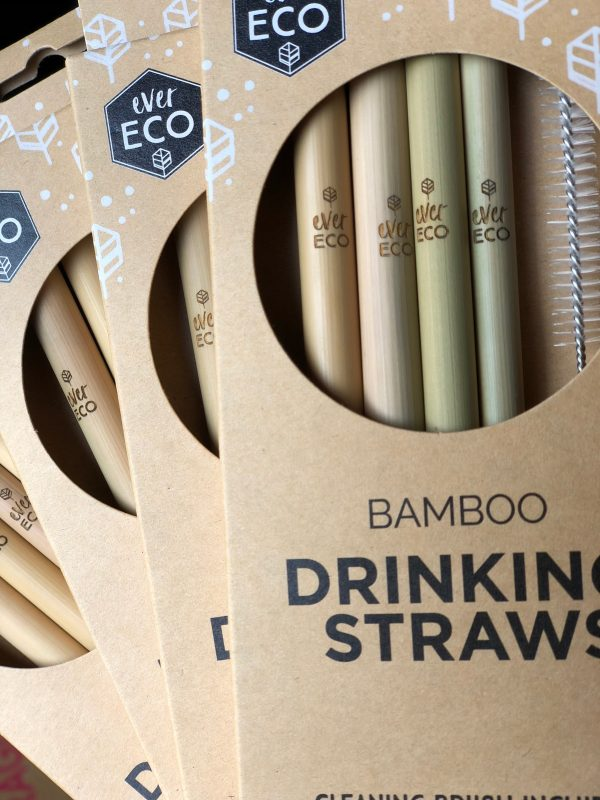 EVER ECO BAMBOO STRAWS www.motherbynature.com.au