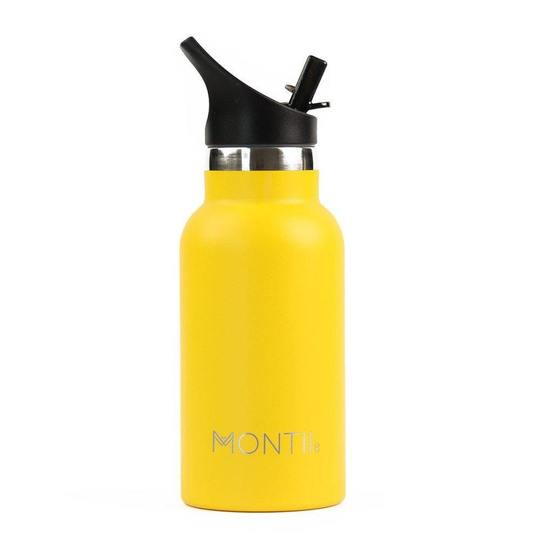 MontiiCo Mini Drink Bottle - Yellow